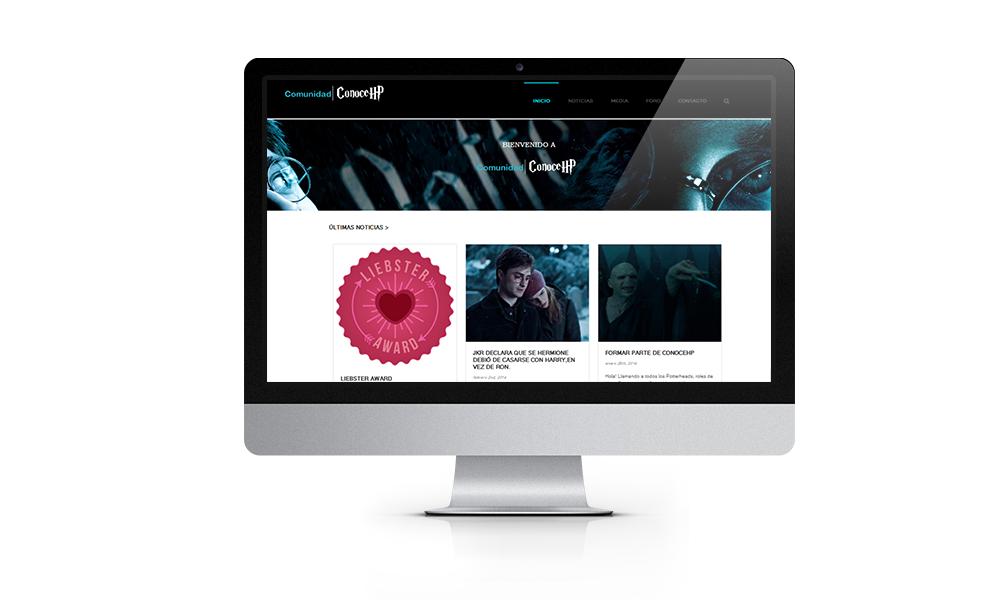 ConoceHP sitio web | Nancy Fernandes