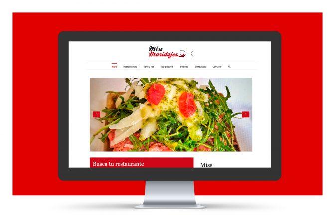 Miss Maridajes | Sitio web