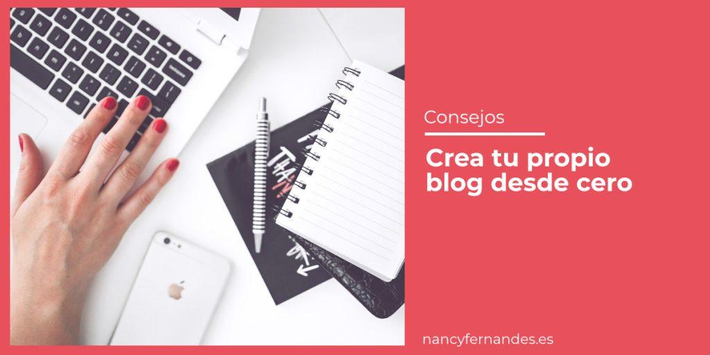 Crea tu propio blog desde cero