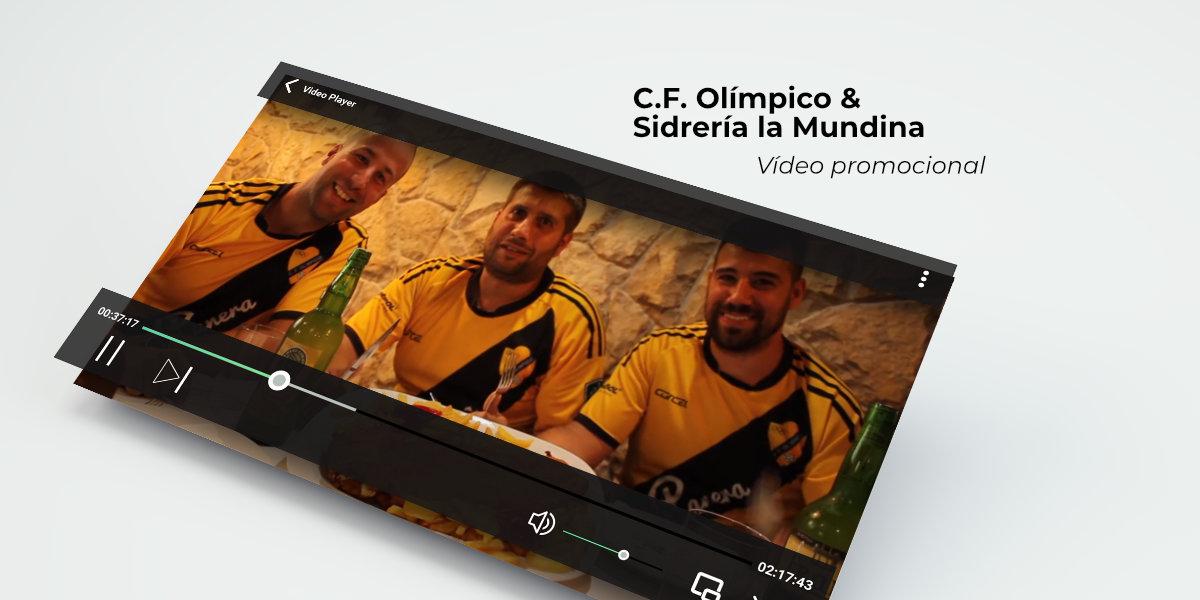 Vídeo promocional Sidrería La Mundina C.F. Olímpico