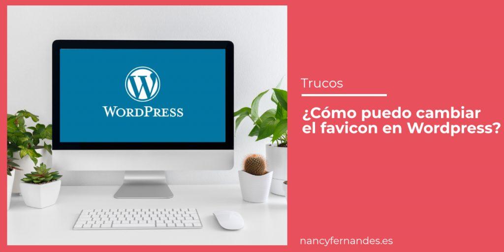 Cómo cambiar el Favicon en WordPress Versión 5.5.