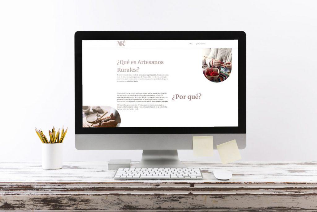 Proyecto diseño web artesanos rurales