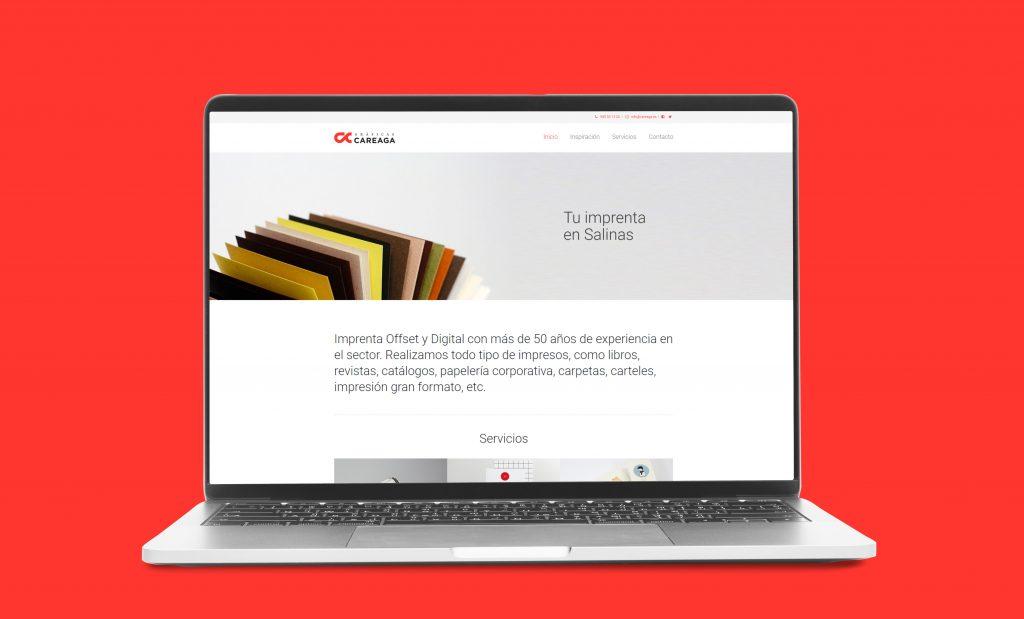 Imprenta Careaga | Diseño Web