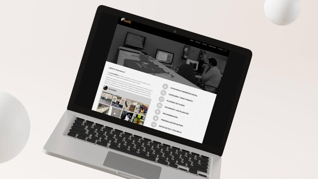 Imprenta La Luna Digital Diseño Web